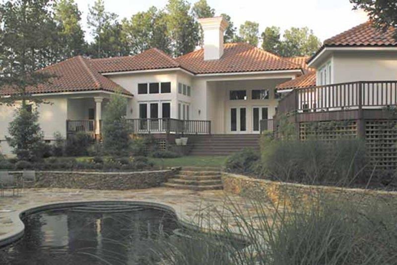 Traditional Exterior - Rear Elevation Plan #1007-13 - Houseplans.com
