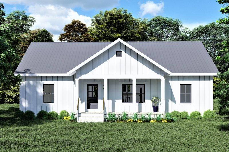 House Design - Cottage Exterior - Front Elevation Plan #44-246