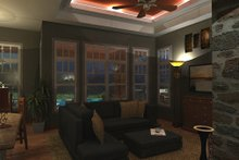 Craftsman Interior - Family Room Plan #120-162