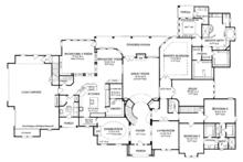 Country Floor Plan - Main Floor Plan Plan #952-274