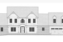 Farmhouse Exterior - Front Elevation Plan #437-78