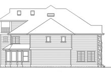 Dream House Plan - Classical Exterior - Other Elevation Plan #132-512