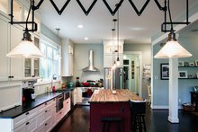 Traditional Interior - Kitchen Plan #928-299