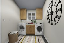 Traditional Interior - Laundry Plan #1060-63