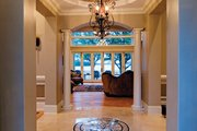 European Style House Plan - 4 Beds 4 Baths 6155 Sq/Ft Plan #929-895 Interior - Entry