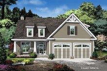 Dream House Plan - Cottage Exterior - Front Elevation Plan #929-1104