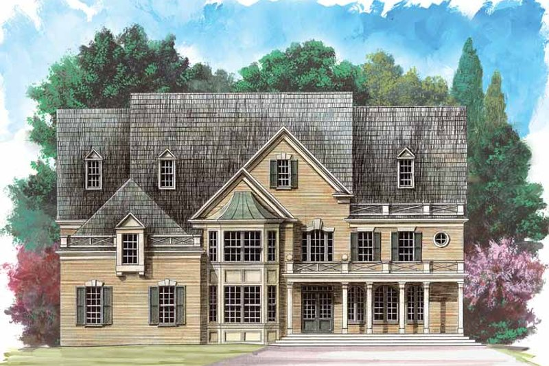 Traditional Exterior - Front Elevation Plan #119-389