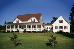 Farmhouse Exterior - Front Elevation Plan #56-205