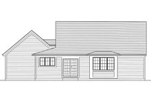 Farmhouse Exterior - Rear Elevation Plan #46-868
