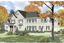 House Plan Design - Traditional Exterior - Front Elevation Plan #328-457