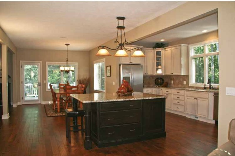 Tudor Interior - Kitchen Plan #928-234 - Houseplans.com