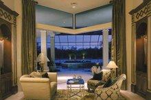 Mediterranean Interior - Family Room Plan #930-319