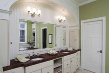 Colonial Interior - Bathroom Plan #928-74