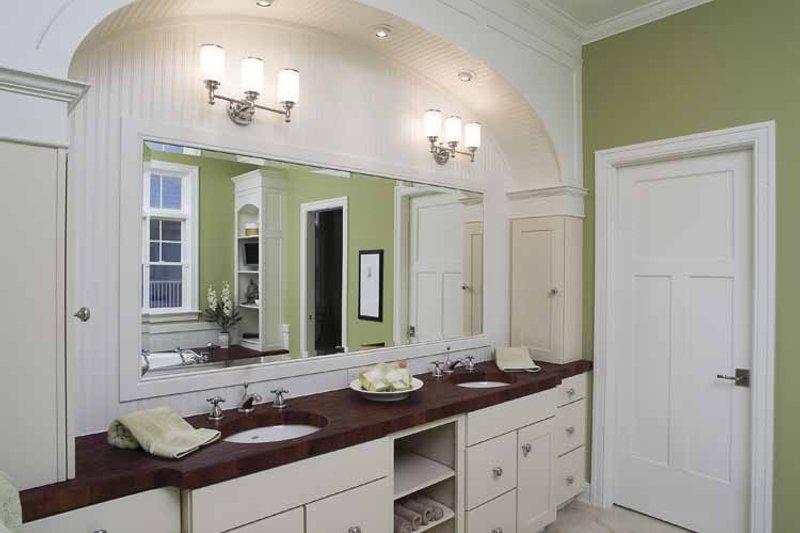 Colonial Interior - Bathroom Plan #928-74 - Houseplans.com