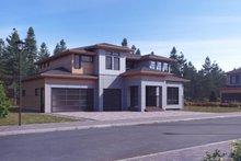 House Plan Design - Modern Exterior - Front Elevation Plan #1066-11