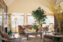 House Design - Country Interior - Family Room Plan #429-299