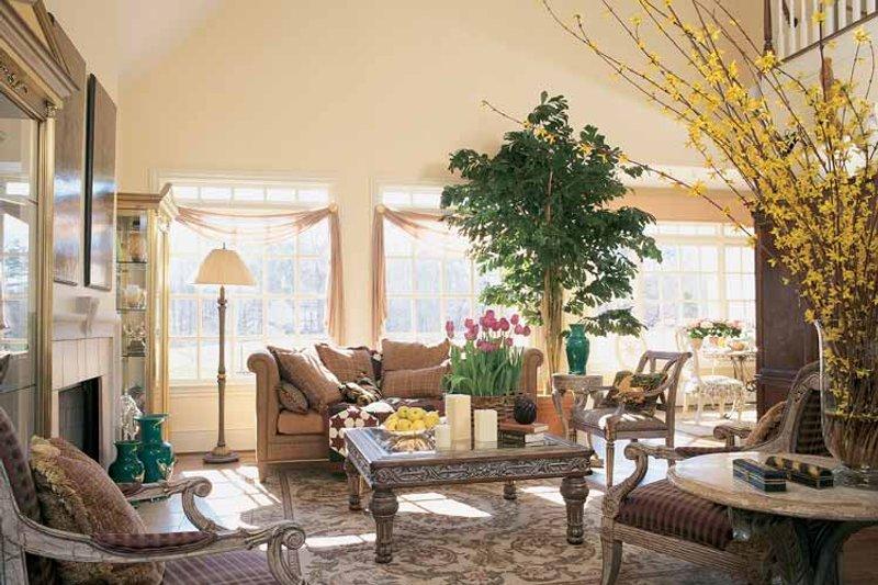 Country Interior - Family Room Plan #429-299 - Houseplans.com