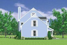 House Blueprint - Country Exterior - Other Elevation Plan #72-1105