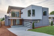 Contemporary Style House Plan - 5 Beds 3 Baths 3104 Sq/Ft Plan #132-228 Exterior - Front Elevation