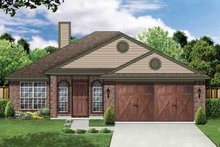 Traditional Exterior - Front Elevation Plan #84-675