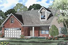 Country Exterior - Front Elevation Plan #17-3223