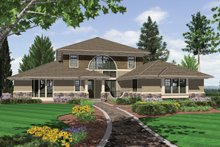 Dream House Plan - 3200 square foot 3 bedroom 3 and half contemporary house plan
