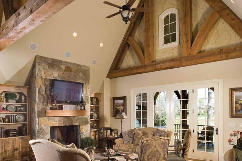 European Interior - Family Room Plan #453-606 - Houseplans.com