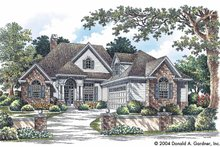 Craftsman Exterior - Front Elevation Plan #929-732