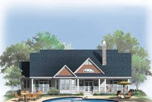 Craftsman Exterior - Rear Elevation Plan #929-332