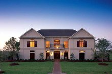 Classical Exterior - Front Elevation Plan #1021-3