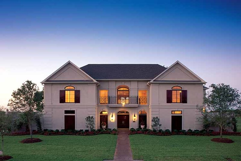 Classical Exterior - Front Elevation Plan #1021-3 - Houseplans.com