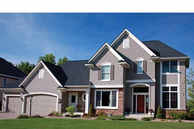 House Plan Design - European Exterior - Front Elevation Plan #51-1081