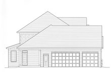 Country Exterior - Other Elevation Plan #46-834
