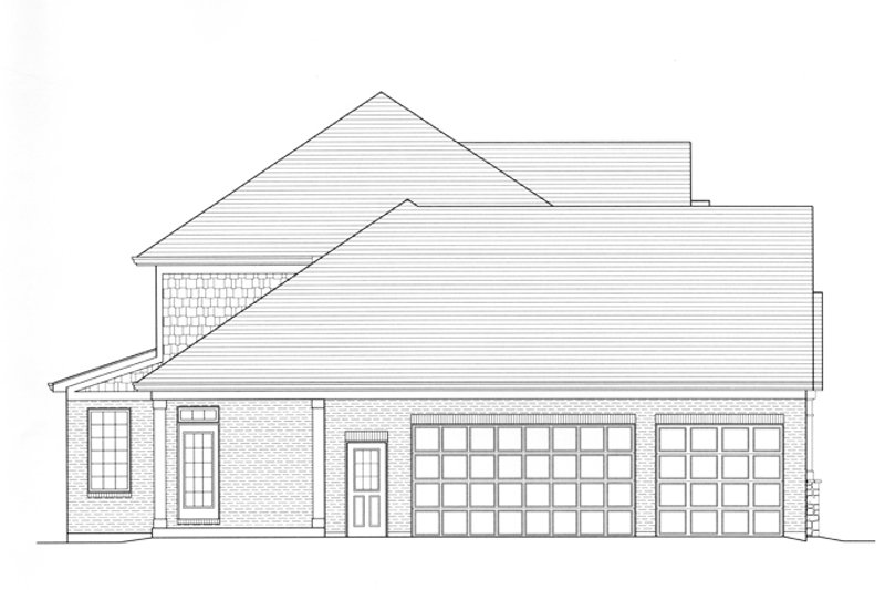 Country Exterior - Other Elevation Plan #46-834 - Houseplans.com