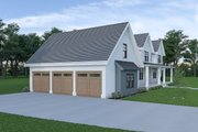 Farmhouse Style House Plan - 4 Beds 3.5 Baths 3075 Sq/Ft Plan #1070-55 Exterior - Other Elevation