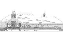 Traditional Exterior - Rear Elevation Plan #5-273