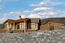 Ranch Exterior - Front Elevation Plan #895-28