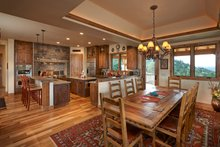 Log Interior - Kitchen Plan #942-43