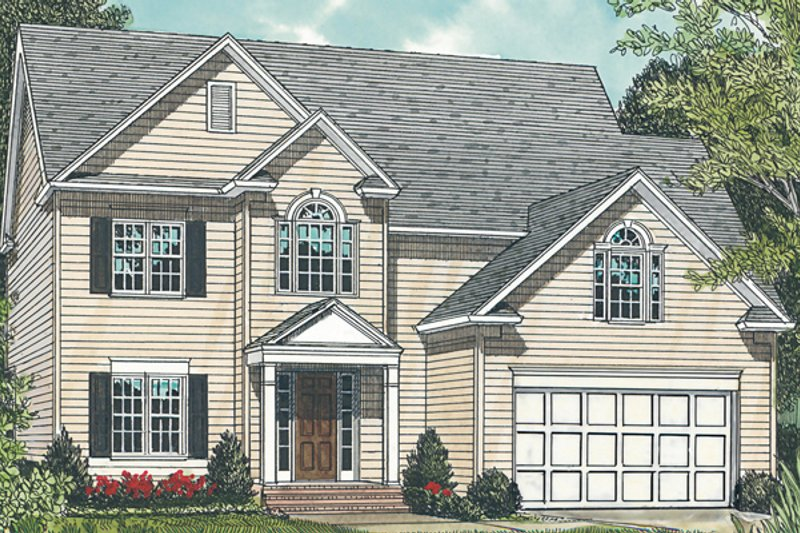 Home Plan - Exterior - Front Elevation Plan #453-68
