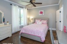 House Plan Design - Ranch Interior - Bedroom Plan #929-1007