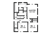 Craftsman Style House Plan - 4 Beds 3.5 Baths 2543 Sq/Ft Plan #48-678 Floor Plan - Upper Floor