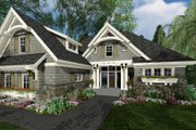 Craftsman Style House Plan - 3 Beds 2.5 Baths 2300 Sq/Ft Plan #51-584 Exterior - Other Elevation