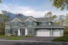 Craftsman Exterior - Front Elevation Plan #132-324
