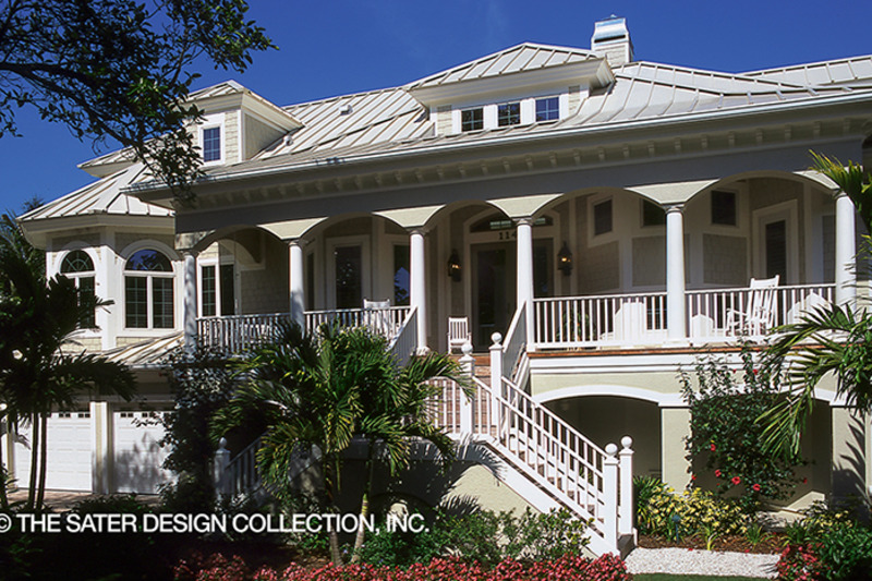 Country Exterior - Front Elevation Plan #930-472 - Houseplans.com