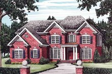 House Design - Colonial Exterior - Front Elevation Plan #927-564