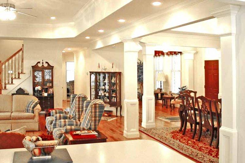 Country Interior - Family Room Plan #314-230 - Houseplans.com