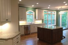 Country Interior - Kitchen Plan #437-72