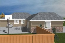 Home Plan - Ranch Exterior - Other Elevation Plan #1060-22