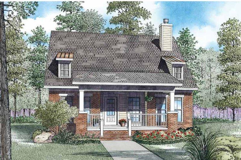 Craftsman Exterior - Front Elevation Plan #17-3360 - Houseplans.com