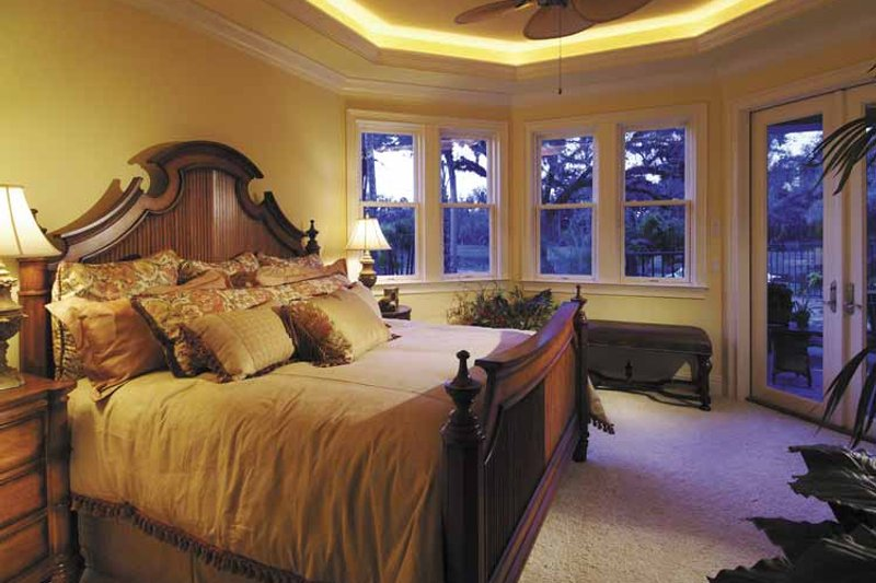 Country Interior - Bedroom Plan #930-331 - Houseplans.com